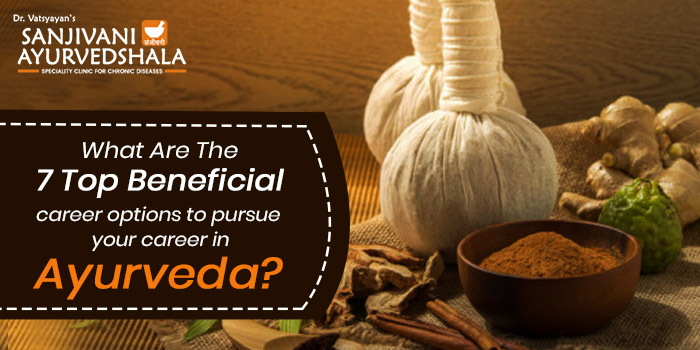 What are the 7 top beneficial career options to pursue your career in Ayurveda