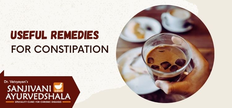 How does Ayurveda offer the best treatment approach for constipation?